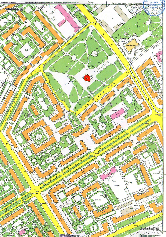 рисунок местности: