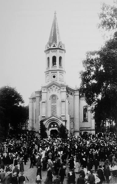 Kościół Nawiedzenia Świętej Elżbiety przez Najświętszą Maryję Dziewicę 1913 r.
