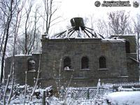 Петропавловская церковь кладбища. Вид с севера. Фото Н.В. Лаврентьева, 21.ХI.2010 года.