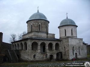 Успенская церковь в Ивангродской крепости. Фото Н.В. Лаврентьева, 11.ХII.2011 года.