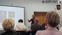 Выступление Е. Вальме из Эстонии. Фото Е.В. Лаврентьевой, 25.VII.2012 года.