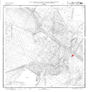 Топографический план кладбищ и долины р. Пулковки в М 1:2000. Трест ГРИИ, 1977 год.